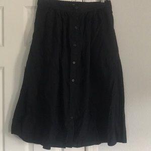 Button up women's skirt